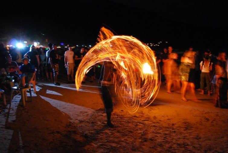 Spectacle de feu, Full Moon Party