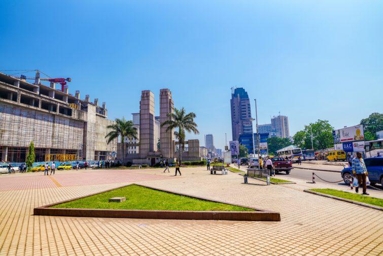 Place de la gare, Kinshasa
