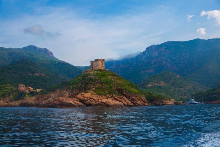 Baie de Girolata, Scandola, Corse