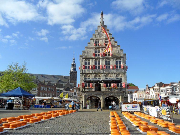 Hôtel de ville, Gouda, Pays-Bas