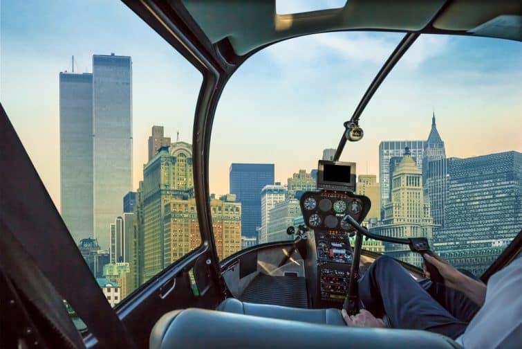 hélicoptère NY