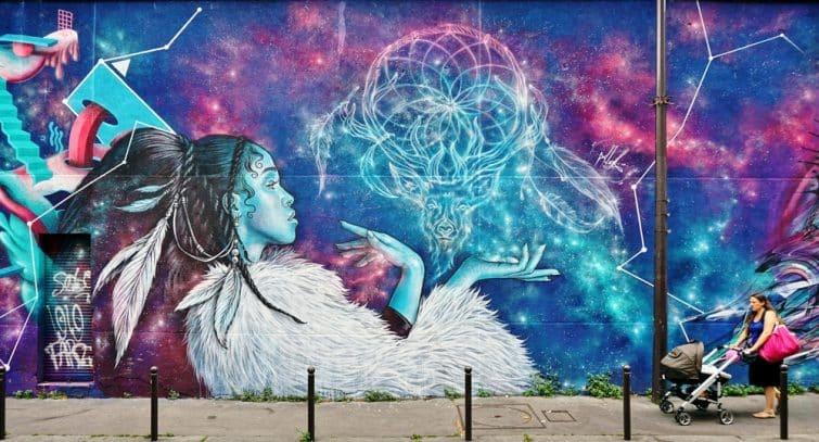 Graffiti, street art entre le 11ème et le 20ème arrondissement de Paris