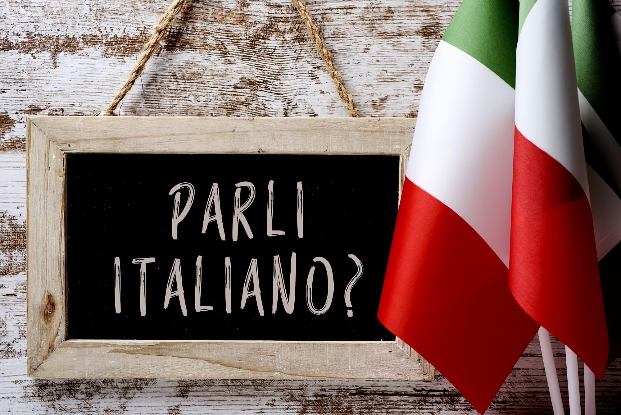 Langue italienne