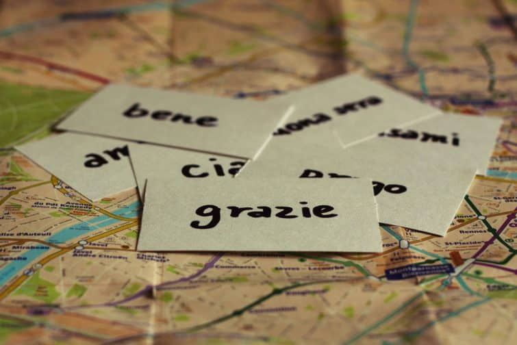 Quelques mots d'italien