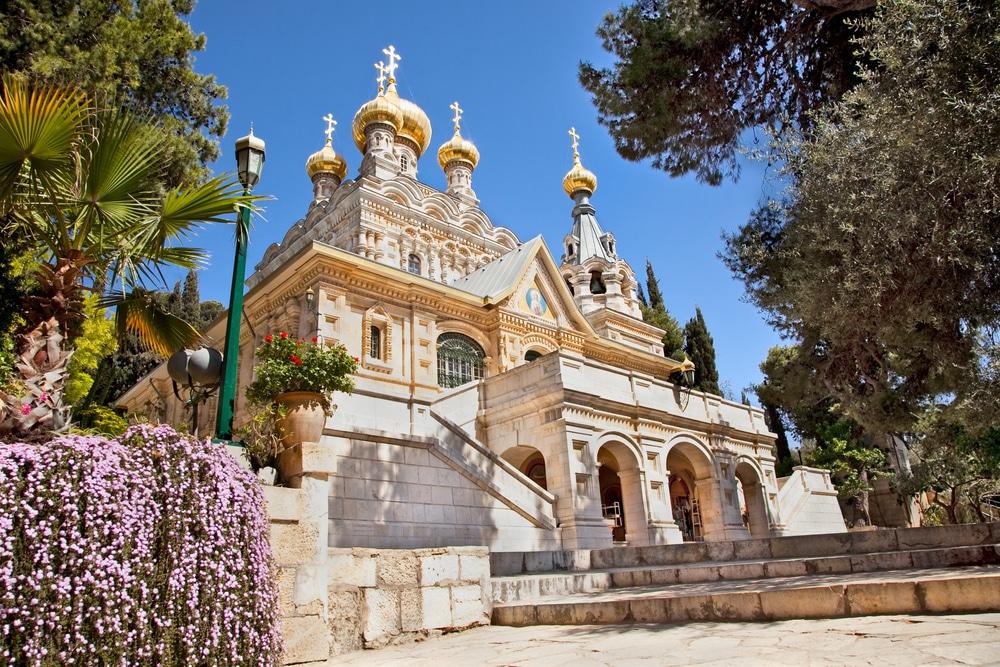 L'Église Sainte Marie-Madeleine, Jérusalem
