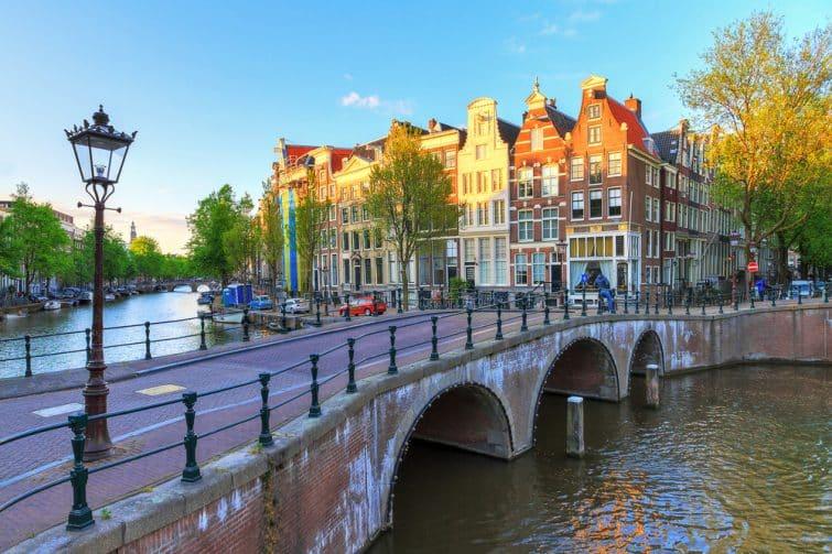 Pont et canal de l'empereur, Jordaan, Amsterdam