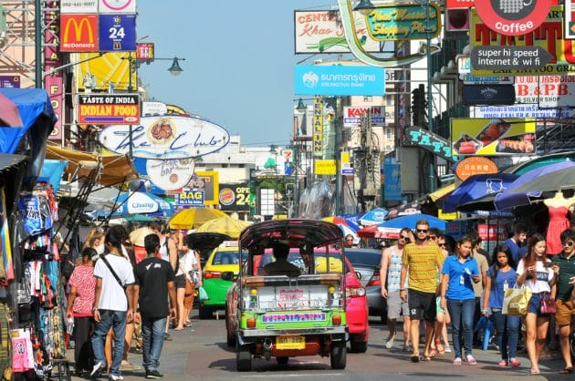 Guide du quartier Khao San Road à Bangkok
