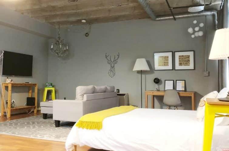 Airbnb à Los Angeles : loft, Pershing Square