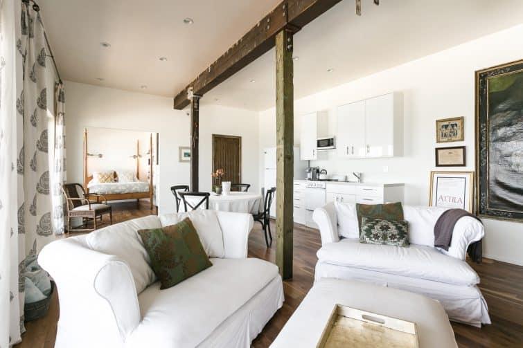 Airbnb à Los Angeles : maison au bord de la plage