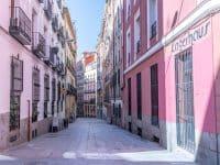 Rue dans le quartier de Malasaña, Madrid