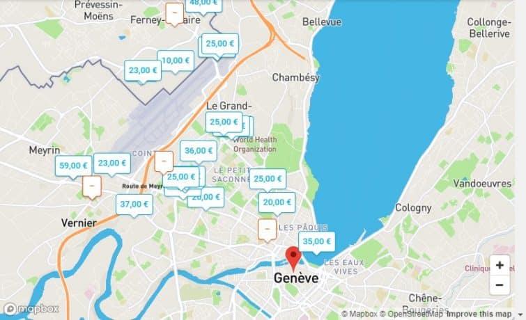 Parkings OnePark de Genève