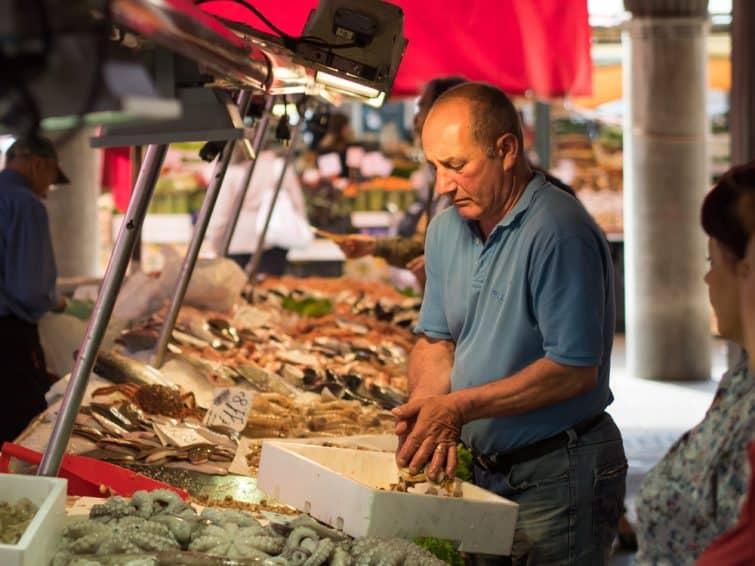Visites guidées à Venise : Marché de Rialto, Venise