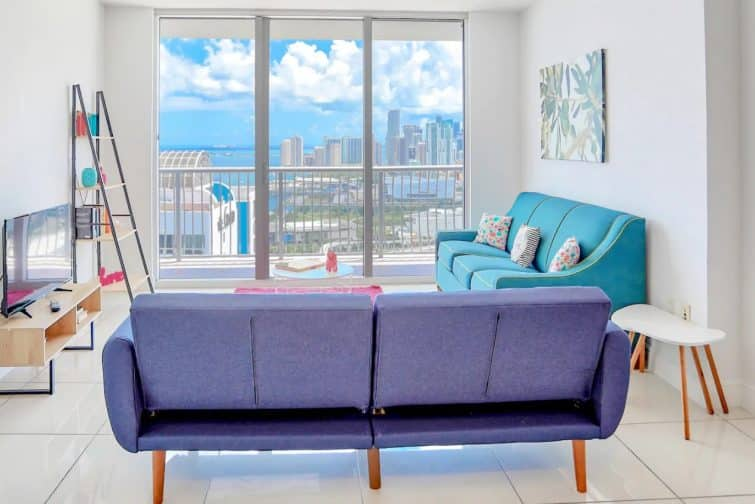 Appartement Miami Vice, Airbnb