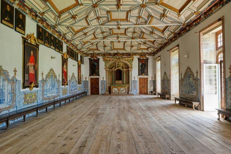 Intérieur du monastère de Tibães, Portugal