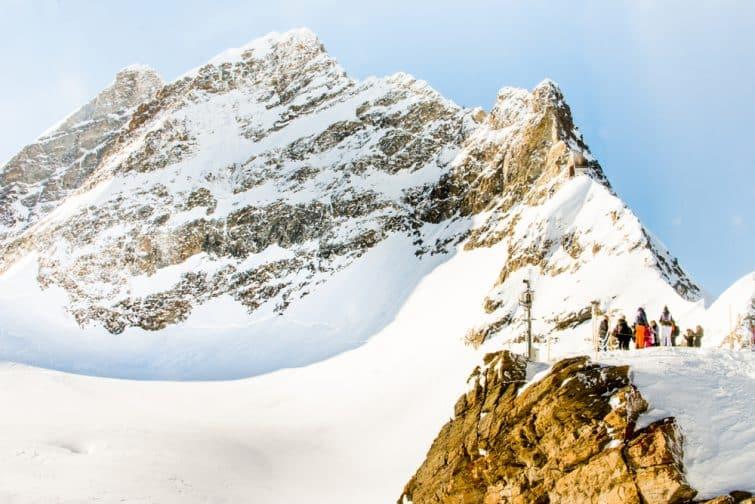 Vue sur le mont Jungfrau, Suisse