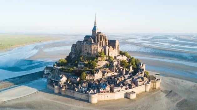 Cartes et plans détaillés du Mont-Saint-Michel