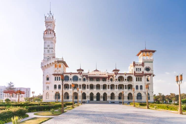 Palais Montaza, Alexandrie