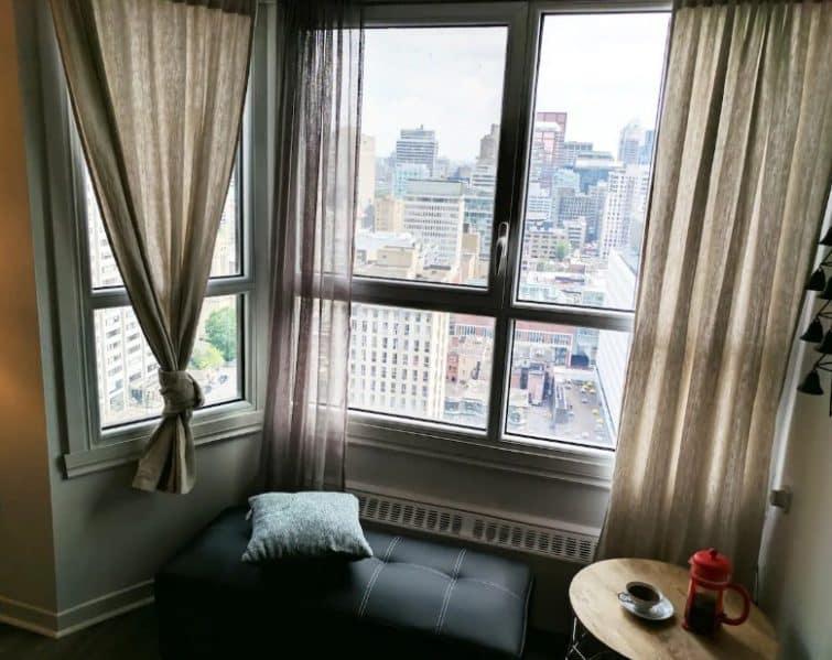 Appartement confortable avec une vue somptueuse