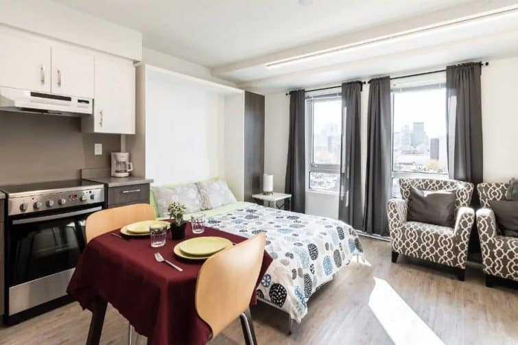 Superbe appartement futuriste