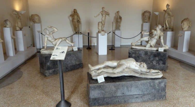 Intérieur du Musée archéologique de Venise