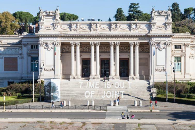 Le GNAM, musée d'art moderne de Rome