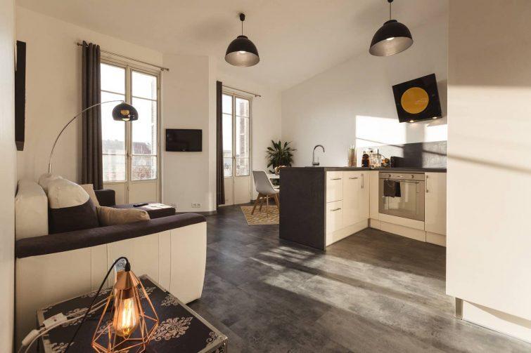 Appartement cosy dans un secteur calme
