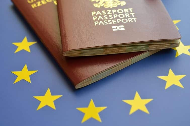 Passeport de l'Union Européenne
