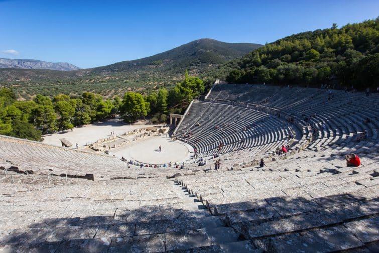 Épidaure et son théâtre antique, à Argonis