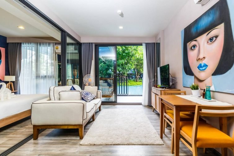 Appartement avec accès à la piscine