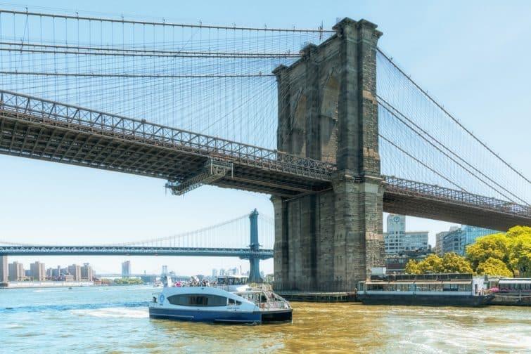 pont brroklyn croisière