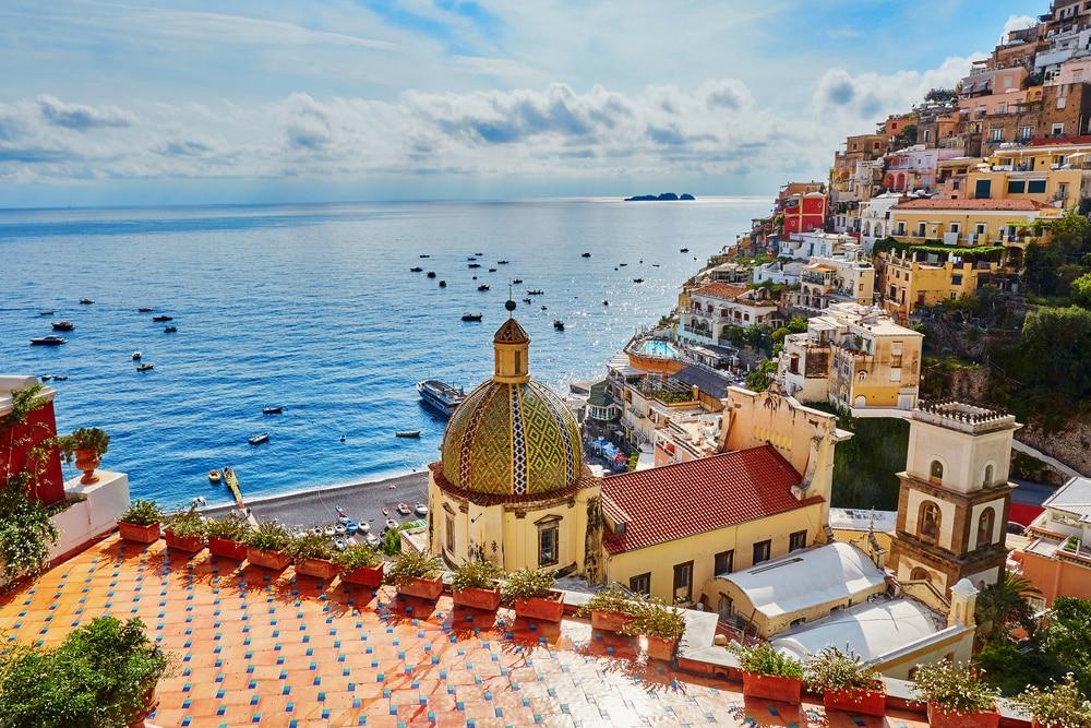 Visiterla Côte Amalfitaine en passant par Positano