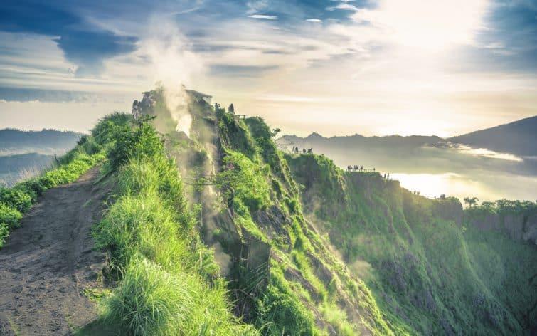 Etapes de randonnée du Mont Batur à Bali