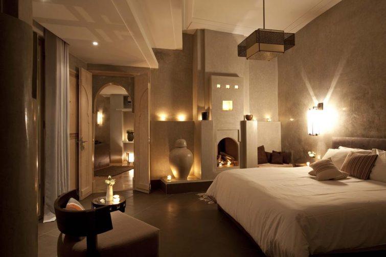 Chambre au riad Dar Maya, Essaouira