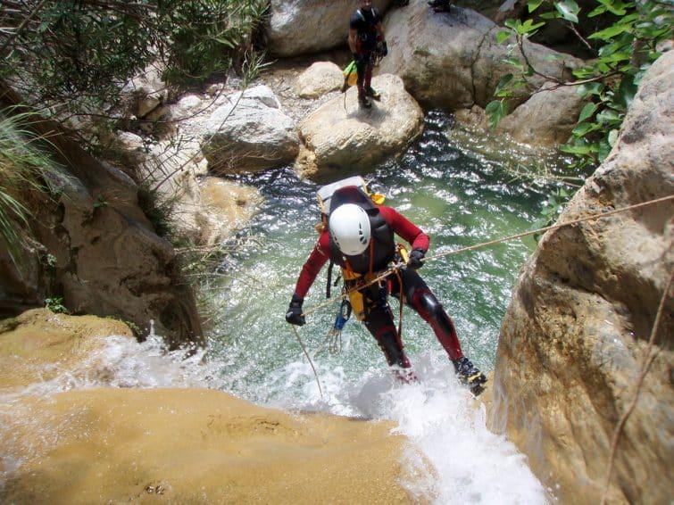 Canyoning au Rio Verde, Espagne