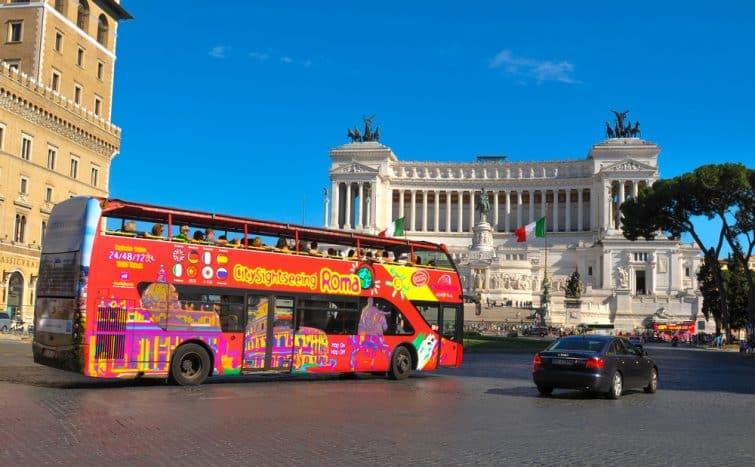 Rome en bus