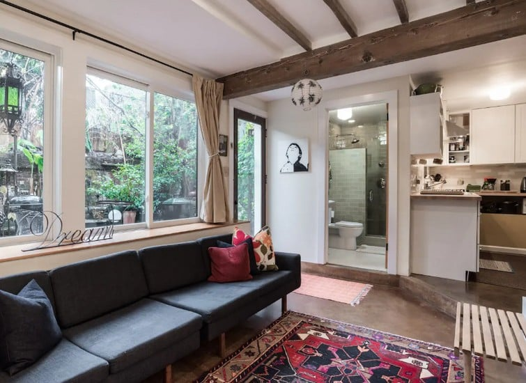 Stylish Spacious Garden Master Bedroom