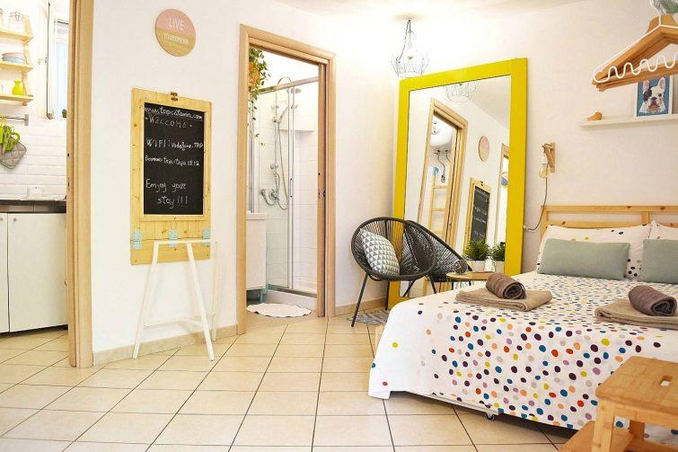 Appartement créatif au centre de Catane