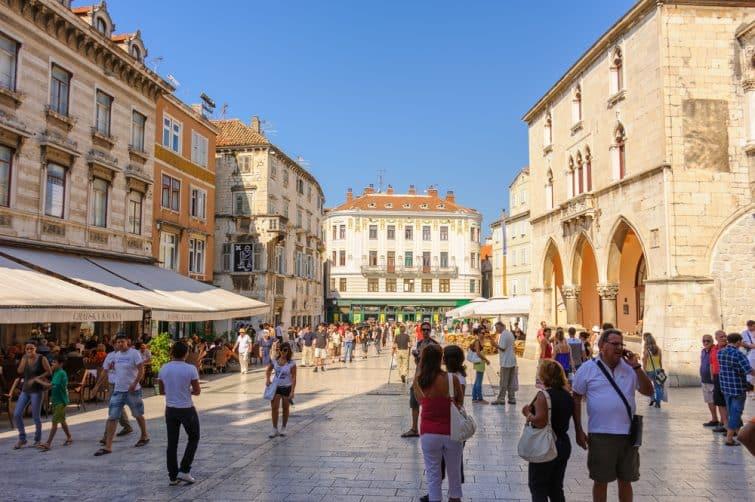 Place du Peuple (Pjaca), Split