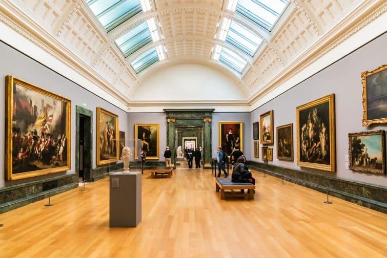 Galerie au Tate Britain, Londres