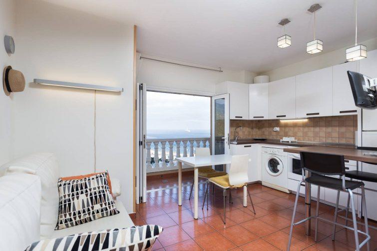 Appartement avec vue sur la plage de Teresitas