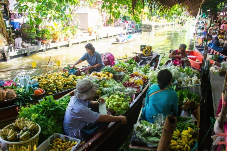Khlong Lat Mayom, l'un des meilleurs marchés flottants de Bangkok