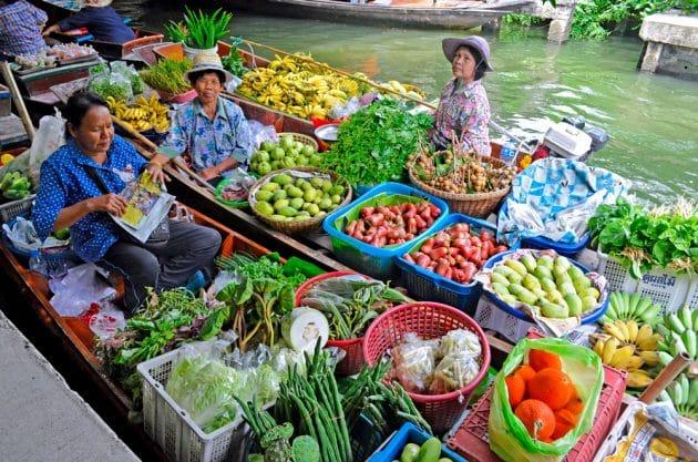 Visiter les marchés flottants de Bangkok : guide complet