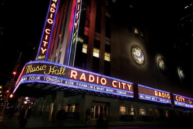 Radio City Music Hall, Times Square