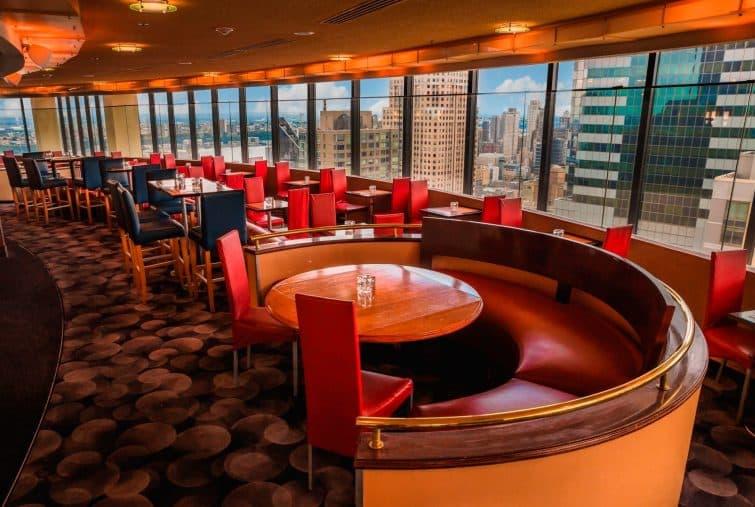 The View, bar lounge de New York