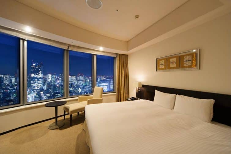 Le Tokyo Park Hotel, magnifique hôtel avec vue