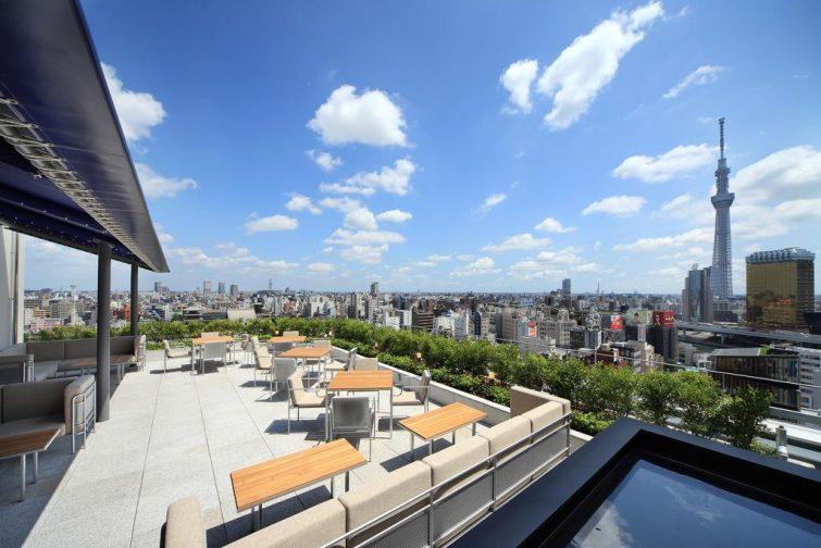 The Gate Hotel, l'un des plus beaux hôtels avec vue à Tokyo