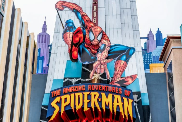 The Amazing Adventure of Spiderman, Universal Studios Orlando