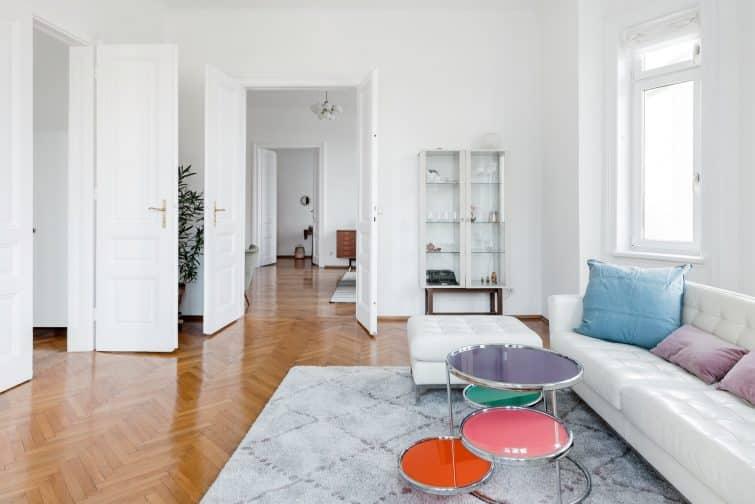 Modernized Art Nouveau Apartment