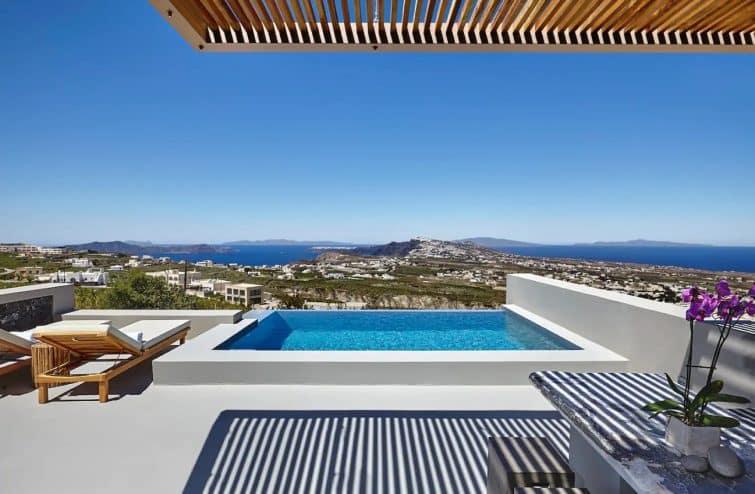 Villa à Santorin