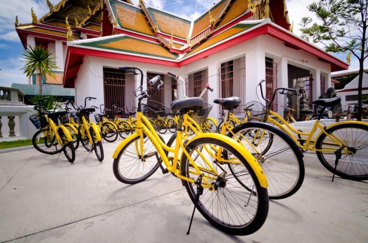 visite guidée de Thonburi à vélo